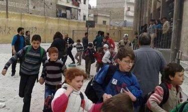 Τραγωδία στη Συρία: Τουλάχιστον πέντε παιδιά νεκρά από βομβαρδισμό σχολείου