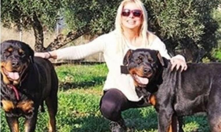 Πάσχα εφιάλτης για την Μπεζαντάκου. Στο νοσοκομείο από επίθεση ροντβάϊλερ (Nassos blog)