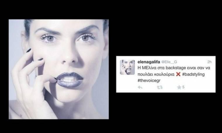 Σποντάρα: «Η Μελίνα στα backstage είναι σαν να πουλά κουλούρια» (Nassos Blog)