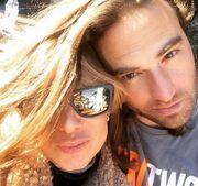 Κώστας Φραγκολίας: Δείτε την πρώτη selfie με τη σύντροφο του