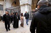 Κιμ Καρντάσιαν: Βάφτισε την κόρη της στα Ιεροσόλυμα (φωτό)