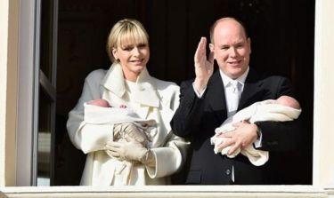 Πριγκιπικά βαφτίσια για τα δίδυμα του Αλβέρτου και της Charlene