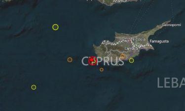 Ισχυρός σεισμός στην Κύπρο