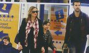 Καμηλά – Στογιάκοβιτς: Με τα παιδιά τους στη Θεσσαλονίκη
