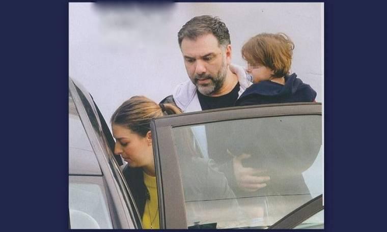 Αρναούτογλου: Παντού αγκαλιά με το γιο του