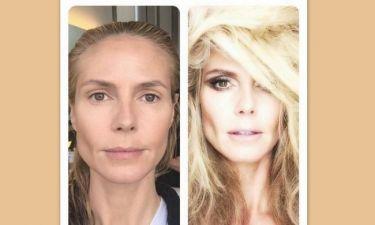 Τρομερή διαφορά: Τι σου κάνει λίγο παραπάνω make-up, τελικά!