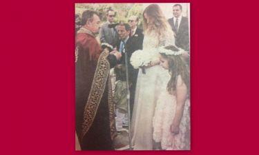 Νέες φωτογραφίες από τον γάμο του Σταύρου Ξαρχάκου