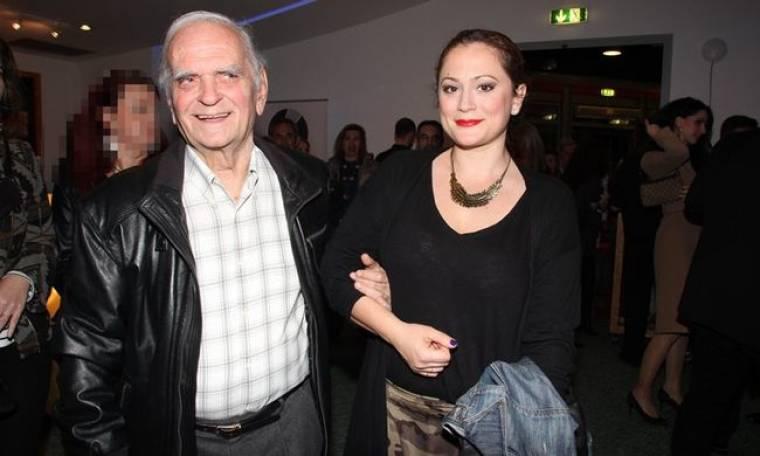Ο Λευτέρης Παπαδόπουλος με την κόρη του