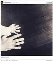 Οι τρυφερές φωτογραφίες του Παπακαλιάτη στο Instagram