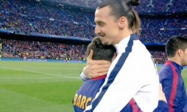 Το αγκάλιασμα Μέσι – Ιμπραΐμοβιτς (video)