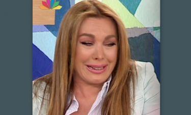 Ξέσπασε σε λυγμούς η Τατιάνα Στεφανίδου on air!