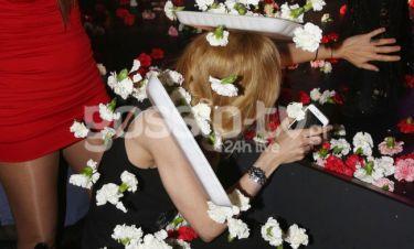 Ποια ηθοποιός δέχτηκε τον λουλουδοπόλεμο;