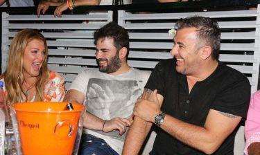 Ρέμος- Παντελίδης: Διασκέδασαν στη Θεοδωρίδου