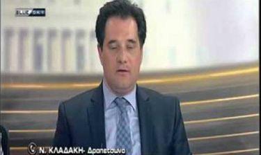 Άγριο κράξιμο τηλεθεατών στον Άδωνι on air (video)