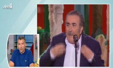 Λιάγκας για Λαζόπουλο: «Έντιμο είναι αυτό που κάνει ο Λαζόπουλος»