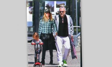 Οικογενειακή βόλτα για την Πέγκυ Ζήνα