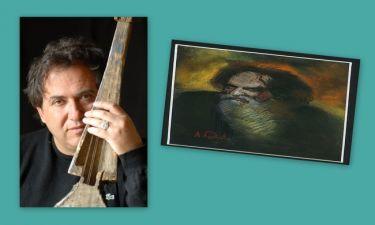 Ο Λουδοβίκος των Ανωγείων ζωγράφισε τον Ψαραντώνη
