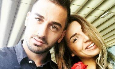 Η Χατζίδου υποδέχτηκε με τον σύντροφό της τον Μάιο