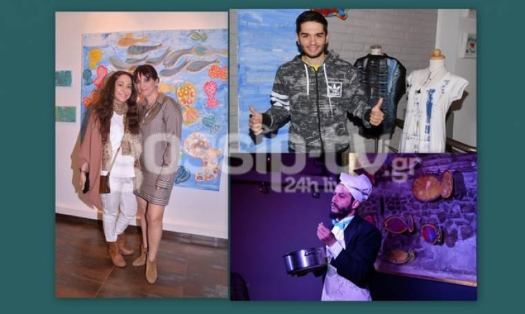 Οι celebrities σε έκθεση ζωγραφικής