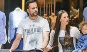 Γιώργος Λιανός: Χαλαρή βόλτα με τα παιδιά του