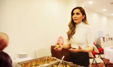 Δέσποινα Βανδή: Δε μπορεί να αντισταθεί στην τηγανητή πατάτα