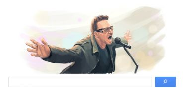 Η Google τιμά τον Bono για τα γενέθλιά του!