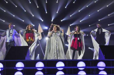 Eurovision 2015: Οι λευκές σημαίες της Σερβίας