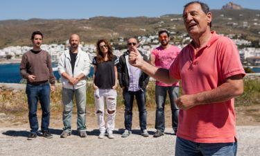 «Traction»: Στην Τήνο ταξιδεύει ο Κώστας Στεφανής