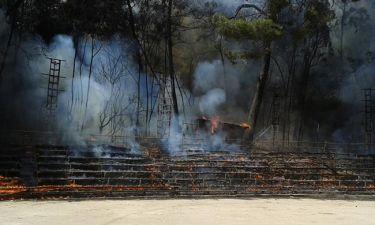 Κάηκε ολοσχερώς το θέατρο της Ρεματιάς