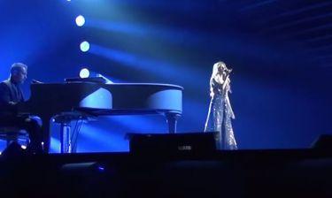 Eurovision 2015:  Η τελευταία πρόβα της Κυριάκου πριν τον ημιτελικό και η ευχή στα ελληνικά των...