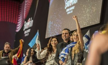 Eurovision 2015: Οι πρώτες δηλώσεις της Κυριάκου μετά την πρόκριση στον τελικό
