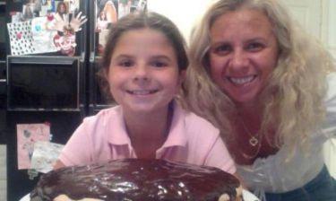 Ραγίζει καρδιές το μήνυμα της Βέφας για τα γενέθλια της εγγονής της