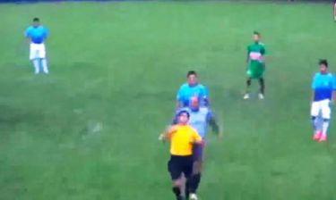 Τερματοφύλακας-καρατέκα στο Περού (video)