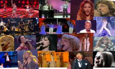 Flashback Eurovision: Οι ελληνικές συμμετοχές από το 1974 έως σήμερα!
