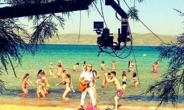 Backstage από τα γυρίσματα του νέου videoclip του Σχοινά