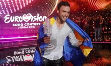 Εurovision 2015: Δείτε τον νικητή του διαγωνισμού να χορεύει γυμνός