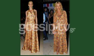 Παπαδημητρίου- Ντάφλα: Με το ίδιο φόρεμα στο ίδιο event
