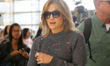Jennifer Lopez: Στράβωσε το σαγόνι της από τα νεύρα της (φωτό)