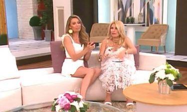 Η Χρουσαλά είδε σε φωτογραφία τη μπέμπα της Ελένης – Tο σχόλιο  on air!
