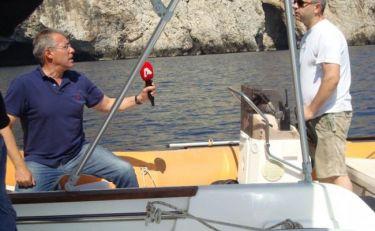 H εκπομπή «60' Ελλάδα» στην Σκύρο