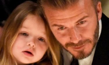 Ποια Victoria; Ιδού η απόδειξη πως ο μεγάλος «έρωτας» της Harper είναι ο μπαμπάς της!