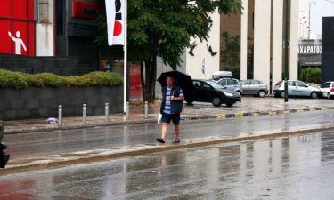 Και ο καιρός τρελάθηκε… Που θα έχουμε βροχές και που καταιγίδες σήμερα Κυριακή (07/06)