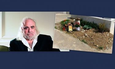 Σάλος με την εικόνα του τάφου του Ντέμη Ρούσσου