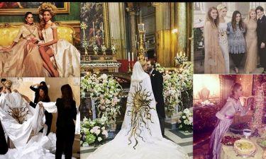 Νιάρχου και Κατράντζου στο γάμο της χρονιάς στη Ρώμη!