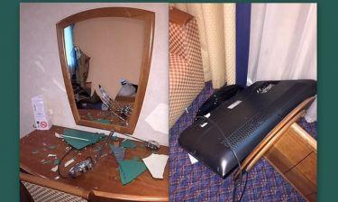Γιος πασίγνωστου ηθοποιού κατέστρεψε δωμάτιο ξενοδοχείου