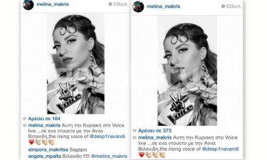 Μα καλά δεν είχε πει κανείς στη Μελίνα Μακρή με ποια θα κάνει ντουέτο στο The Voice;