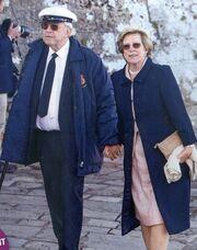 Η τέως βασιλική οικογένεια ταξίδεψε στον βρετανικό Νότο