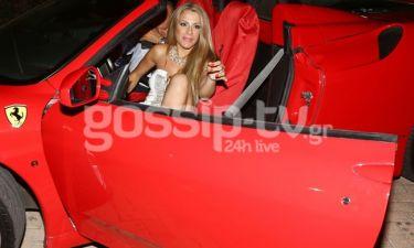 Η επιστροφή της Μελά από το Big Brother και η γρατσουνισμένη Ferrari!