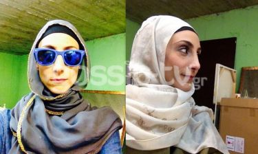 Αναρωτιέστε πώς είναι η «Ράγια» από την «Εθνική Ελλάδος» χωρίς τη μαντήλα της; Μια κούκλα!