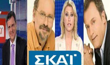Ανανέωσαν τα συμβόλαιά τους οι τηλεοπτικοί αστέρες του ΣΚΑΙ